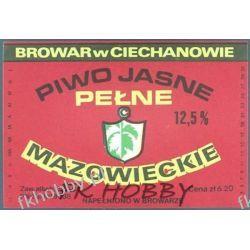 Polska Browar Ciechanów Etykieta Mazowieckie 45.5 Birofilistyka