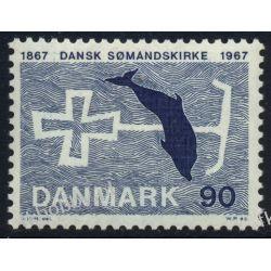 Dania 1967 Mi 466 ** Delfin Polonica