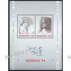 Dania 1992 Mi BL 8 ** NORDIA Ptaki Sport