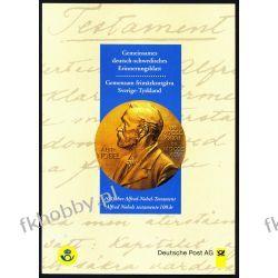 Szewcja Niemcy 1995 karnet Czesław Słania Nobel Pozostałe