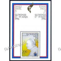 Słowenia 1996 Mi BL 2 ** Jan Paweł II Papież Ssaki