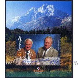 Słowenia 2003 Mi BL 17 ** Muzyka Muzycy Folklor Góry Malarstwo
