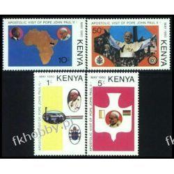 Kenia 1980 Mi 165-68 ** Jan Paweł II Papież Sport