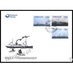 Wyspy Owcze 1983 FDC 79-81 Statek Marynistyka a Pozostałe