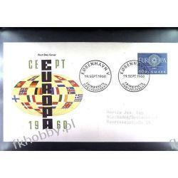 Dania 1960 FDC 383 Europa Cept Polonica