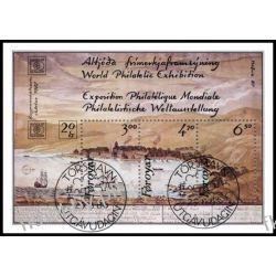 Wyspy Owcze 1986 Mi BL 2 # Statek Marynistyka Polonica