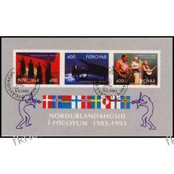 Wyspy Owcze 1993 Mi BL 6 # Muzyka Fortepian Polonica