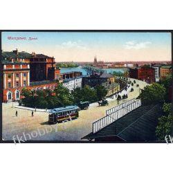 Wrocław 1915 Most Zjazd Tramwaj obieg 7