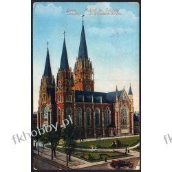 Lwów 1915 Kościół świętej Elżbiety obieg 5 Pocztówki
