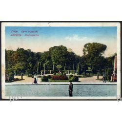 Lwów 1916 Ogród Pojezuicki obieg 4 Pocztówki