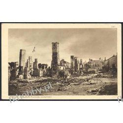 Piaski 1914 Ruiny Budynków z Wojny obieg 10