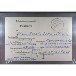 Poczta Obozowa Oflag IID Grossborn 1943 Kriegsgefangenenpost k1d Ptaki