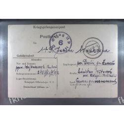 Poczta Obozowa Oflag IID Grossborn 1943 Kriegsgefangenenpost k6 Sport