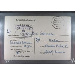 Poczta Obozowa Oflag IID Grossborn 1944 Kriegsgefangenenpost k20e Sport
