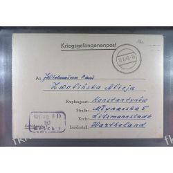 Poczta Obozowa Oflag IID Grossborn 1943 Kriegsgefangenenpost l10a Sport