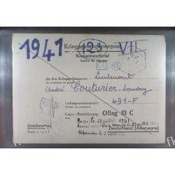 Poczta Obozowa Oflag IIIC Lubben 1941 Kriegsgefangenenpost k8 Sport