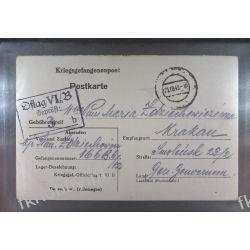 Poczta Obozowa Oflag VIB Dossel 1943 Kriegsgefangenenpost k3b Sport