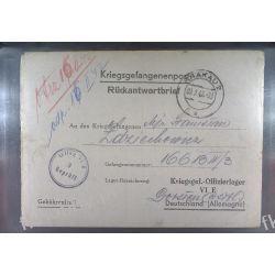 Poczta Obozowa Oflag VIE Dorsten 1942 Kriegsgefangenenpost l3 Pozostałe