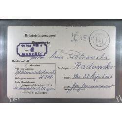Poczta Obozowa Oflag VIIA Murnau 1943 Kriegsgefangenenpost k4 Pozostałe