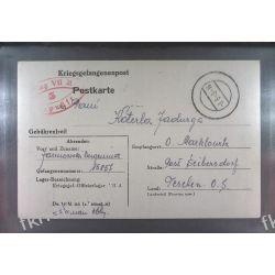 Poczta Obozowa Oflag VIIA Murnau 1943 Kriegsgefangenenpost k5b Pozostałe