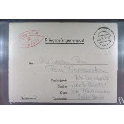 Poczta Obozowa Oflag VIIA Murnau 1943 Kriegsgefangenenpost l5 Malarstwo