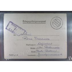 Poczta Obozowa Oflag VIIA Murnau 1943 Kriegsgefangenenpost l16 Pozostałe