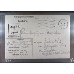 Poczta Obozowa Oflag XA Sandbostel 1941 Kriegsgefangenenpost k7d Sport