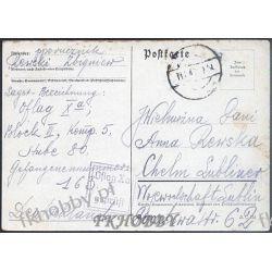 Poczta Obozowa Oflag XA Sandbostel 1940 Kriegsgefangenenpost k8 Polskie