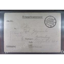 Poczta Obozowa Oflag XIB Braunschweig 1940 Obóz Wojsko Wojna l3 Pozostałe