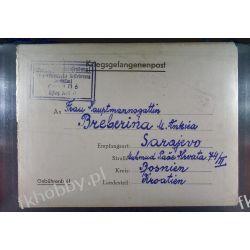 Poczta Obozowa Oflag XIIIB Hammelburg 1943 Obóz Wojsko Wojna l6 Pozostałe