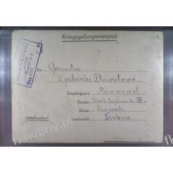 Poczta Obozowa Oflag XIIIB Nurnberg 1943 Obóz Wojsko Wojna l2 Sport