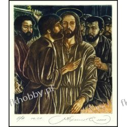 Kirnitskiy Sergey 2000 Exlibris C4 Kiss of Judah Jesus Christ Religion 21 Sport