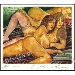 Kirnitskiy Sergey 2002 Exlibris C4 Erotic Erotik Nude Nudo Woman Book 48 Antyki i Sztuka