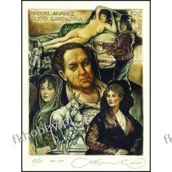 Kirnitskiy Sergey 2004 Exlibris C4 Francisco Goya Erotic Nude Woman Donkey 82 Antyki i Sztuka