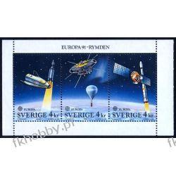 Szwecja 1991 Mi HB 186 ** Europa Cept Kosmos Malarstwo