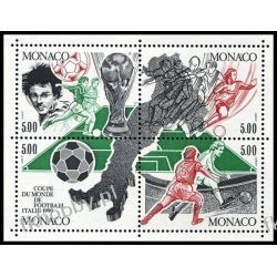 Monako 1990 Mi 1963-66 ** Piłka Nożna Sport  Pozostałe