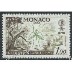 Monako 1962 Mi 692 ** Malaria Komar Medycyna Owady