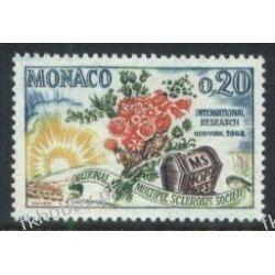 Monako 1962 Mi 694 ** Kwiaty Róża Sport