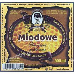 Polska Browar Ciechanów Etykieta Miodowe 72.1 Birofilistyka