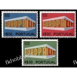 Portugalia 1969 Mi 1070-72 ** Europa Cept Druk wklęsły