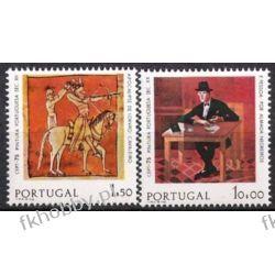 Portugalia 1975 Mi 1281-82 x ** Europa Cept Sztuka Pozostałe