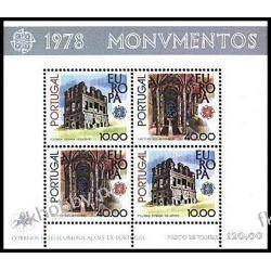 Portugalia 1978 Mi BL 23 ** Europa Cept Architektura Sport