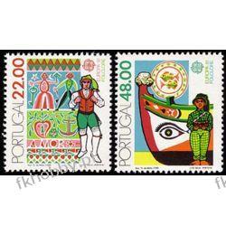 Portugalia 1981 Mi 1531-32 ** Europa Cept Folklor Polonica