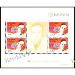 Portugalia 1983 Mi BL 40 ** Europa Cept Nagroda Nobla Polonica