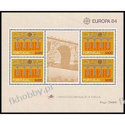 Portugalia 1984 Mi Bl 43 ** Europa Cept Most Polonica