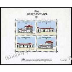 Portugalia 1990 Mi BL 71 ** Europa Cept Architektura Pozostałe