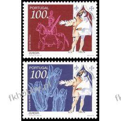 Portugalia 1994 Mi 2010-11 ** Europa Cept Rycerz Koń Druk wklęsły