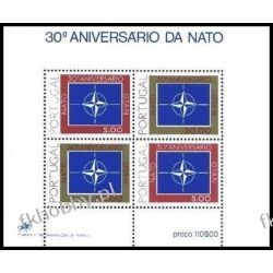 Portugalia 1979 Mi BL 26 ** Europa Cept Nato Druk wklęsły