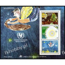 Portugalia 1987 Mi BL 56 ** Boże Narodzenie Dzieci Polskie