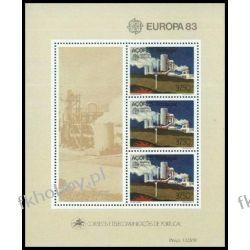 Portugalia Az 1983 Mi BL 4 ** Europa Cept Fabryka Pozostałe